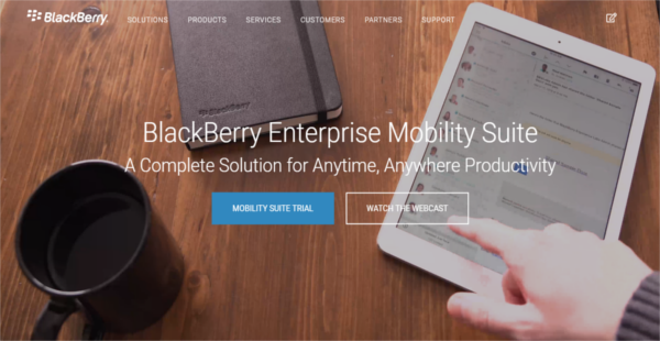 BlackBerry Enterprise Mobility Suite Reviews: Overview, Pricing and