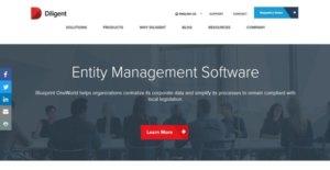 Logo of Diligent Entity Management