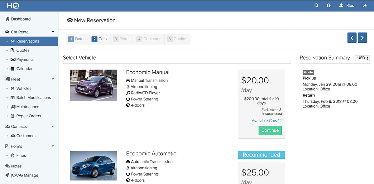 20 Best Car Rental Software Solutions In 2019 Key Features To Look