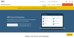 Logo of IBM Cloud Orchestrator