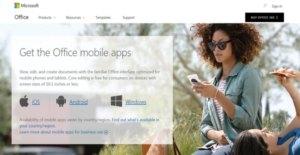 Logo of Microsoft Office 365 Mobile Apps