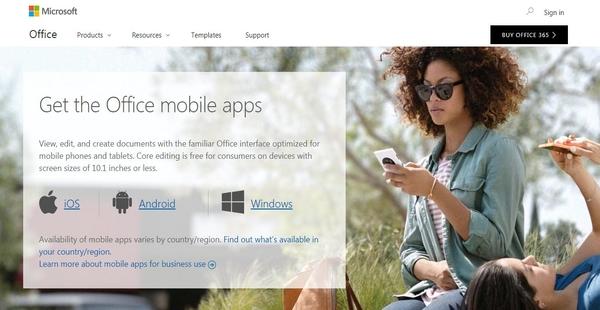 Microsoft Office 365 Mobile Apps - Financesonline com