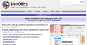 Logo of NeoOffice