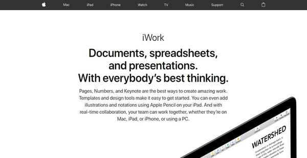iWork - Financesonline com