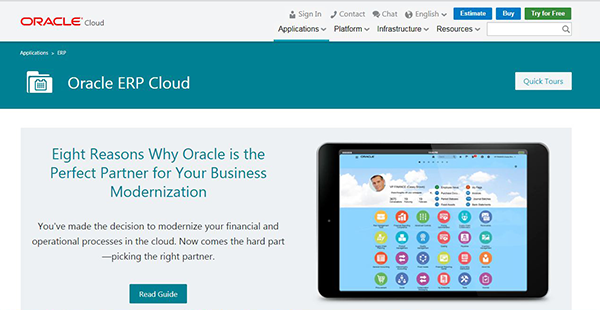Oracle ERP Cloud Reviews: Overview, Pricing and Features