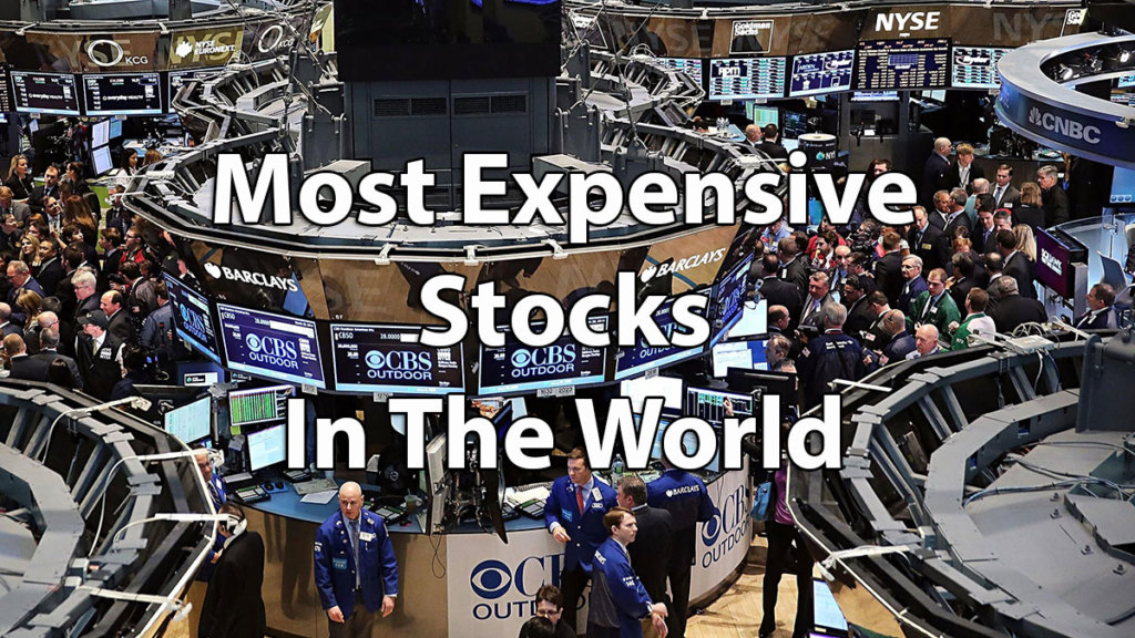 Top 10 Most Expensive Stocks In The World: From Chipotle To