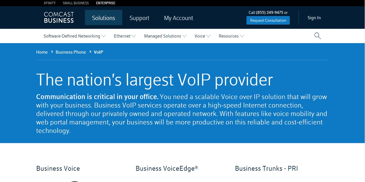 bde6e19b70f93 Comcast VoIP is a scalable phone system that runs on a privately owned and  operated network. As the one of the largest VoIP providers on the market