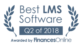 This award is given to the best product in our LMS Software category. It highlights its superior quality and underlines the fact that it's a leader on the market.