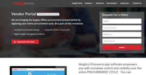 Logo of Moglix Vendor Portal