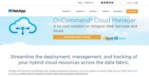 Logo of NetApp OnCommand Cloud Manager