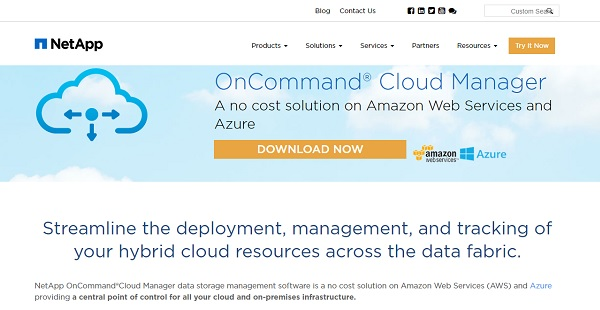 OnCommand Cloud Manager Reviews: Overview, Pricing and Features