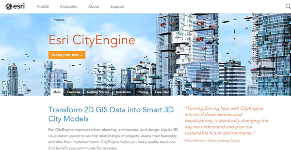 Esri CityEngine Reviews: Overview, Pricing and Features