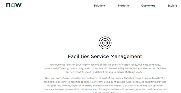ServiceNow Facility Management Reviews: Overview, Pricing and Features
