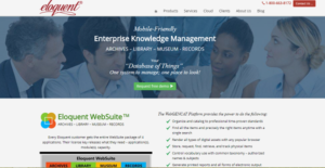 Logo of Eloquent WebSuite