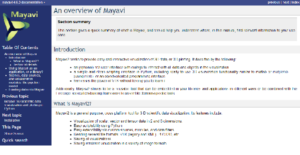 Logo of Mayavi
