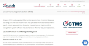 Logo of Octalsoft CTMS