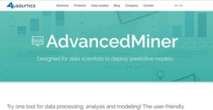Logo of Algolytics AdvancedMiner