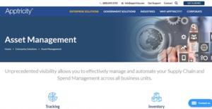 Logo of Apptricity Asset Management