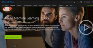 Logo of Microsoft Azure Machine Learning Studio