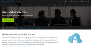Logo of Microsoft Azure Active Directory