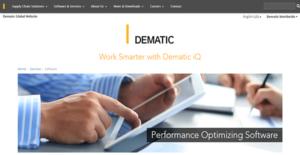 Logo of Dematic iQ