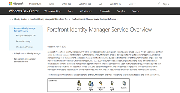 Forefront Identity Manager Reviews: Overview, Pricing, Features