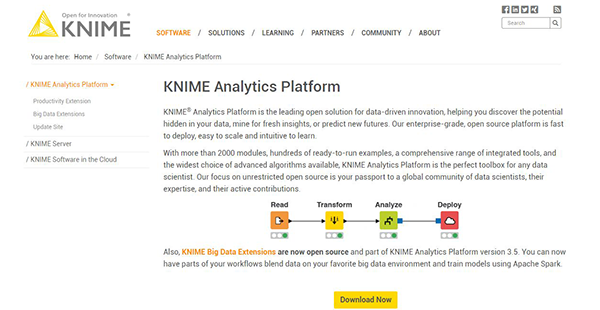 KNIME Analytics Platform Reviews: Overview, Pricing and Features