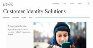 Logo of Signal Customer Identity Solution