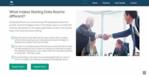 Logo of Sterling Data Rooms