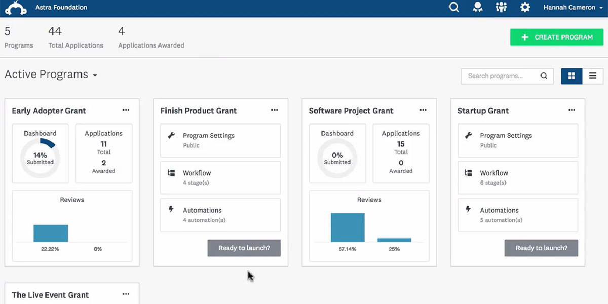 Technology Management Image: 20 Best Grant Management Software In 2019