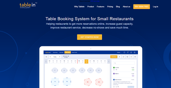 Tablein Reviews: Overview, Pricing and Features