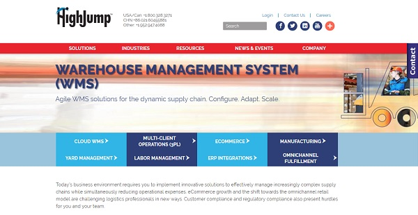 HighJump WMS Reviews: Overview, Pricing and Features
