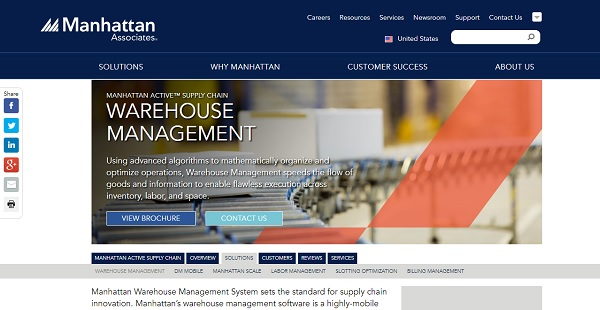 Manhattan WMS Reviews: Overview, Pricing and Features