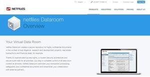 Logo of Netfiles Dataroom
