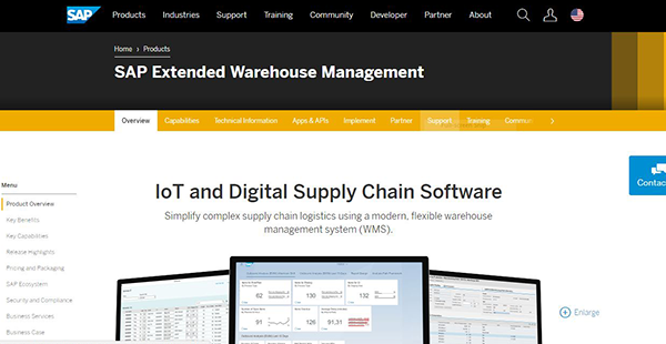 SAP EWM Reviews: Overview, Pricing and Features