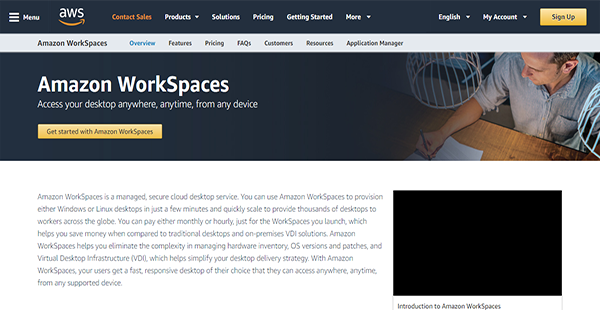 Amazon WorkSpaces Reviews: Overview, Pricing, Features