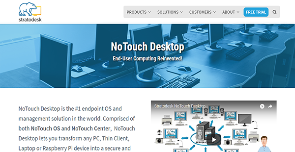 NoTouch Desktop Reviews: Overview, Pricing and Features