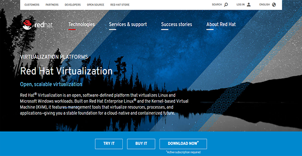 Red Hat Virtualization Reviews: Overview, Pricing, Features