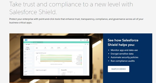 Salesforce Shield Reviews: Overview, Pricing and Features