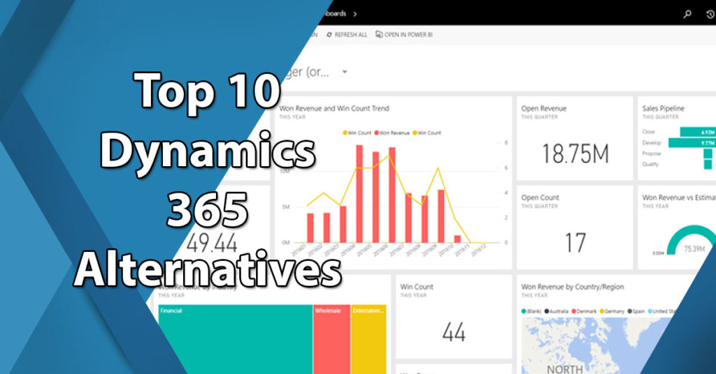 Top 10 Alternatives to Microsoft Dynamics 365: Overview of