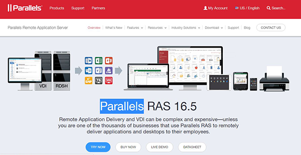 Parallels RAS Reviews: Overview, Pricing and Features