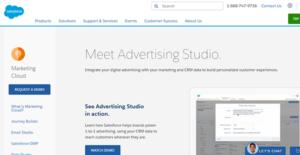 Logo of Salesforce Advertising Studio