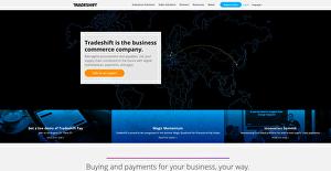 Logo of Tradeshift