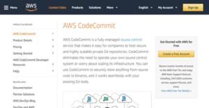 Logo of AWS CodeCommit