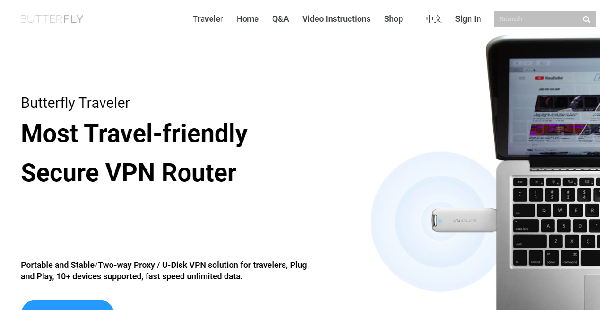 ButterflyVPN Router Reviews: Overview, Pricing and Features