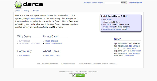 Darcs Reviews: Overview, Pricing and Features