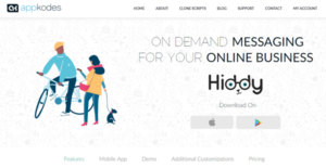 Logo of Hiddy