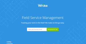 Logo of Wrike