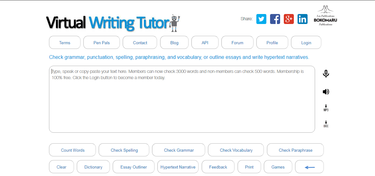 Best  Writing Enhancement Software Of   Financesonlinecom Virtual Writing Tutor Is An Englishasasecondlanguage Grammar Checker  Created For Both Students And Language Teachers Or Bloggers Writers