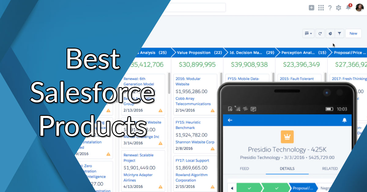 Best Salesforce Products: Reviews Of The Most Popular Services